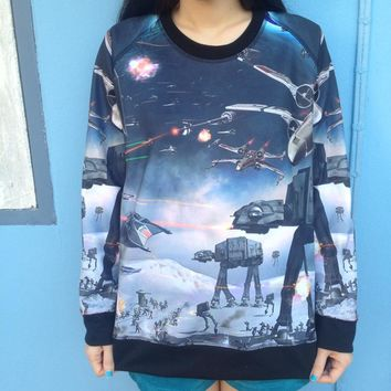 Glitters For Dinner — Star Wars Jumper