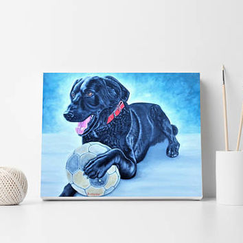 Dog painting Custom portrait Painting from photo Birthday gift Custom dog painting Pet painting Pet portraits Oil on canvas Original art