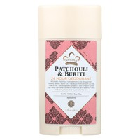 Nubian Heritage Deodorant, Patchouli And Buriti - 2.25 Oz.