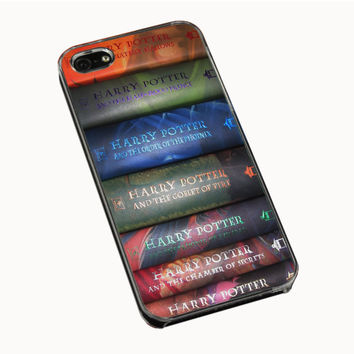 Harry Potter Book Collection iPhone 4(S) 5(S) 5C Cases