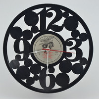 Music Gift for your Music Room Vinyl Record Clock (artist is Bob Seger)