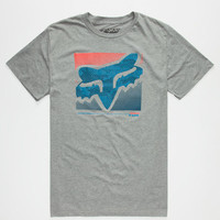 Fox Reliever Mens T-Shirt Heather  In Sizes