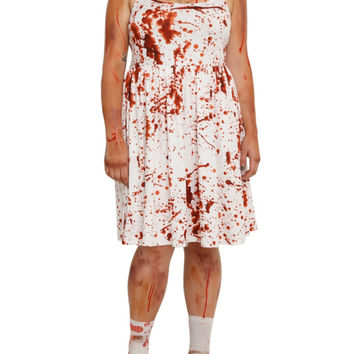 Blood Splatter Dress Plus Size