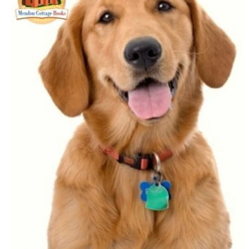 3dRose lsp_172989_1 Cute Golden Retriever Puppy Spa Day Art Photo Courtesy Badestboss Light Switch Cover