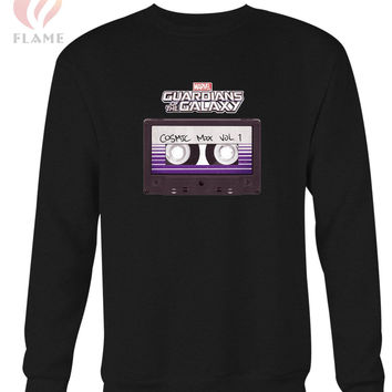 Marvel Guardians Of The Galaxy Cosmic Mix Cassette Long Sweater