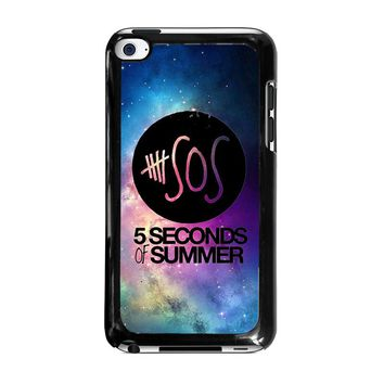 5 SECONDS OF SUMMER 1 5SOS iPod Touch 4 Case Cover