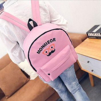 Fashion Cartoon Printed Boys Girls Children Kids Rucksack Expandable School Book Bag Strap Travel Backpack