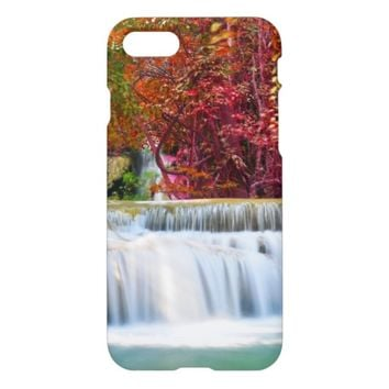 Beautiful Nature Waterfall Picture iPhone 7 Case