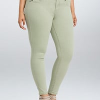 Torrid Jeggings - Tea Green Wash (Regular)