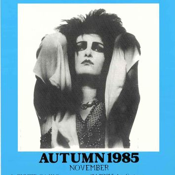 Siouxsie and the Banshees 1985 UK Tour Poster 25x38