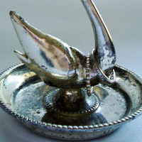 Vintage Swan Ring Holder, Silver Plated - Edit Listing - Etsy