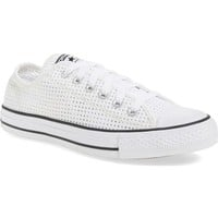 Converse Chuck Taylor® All Star® 'Ox' Perforated Canvas Sneaker (Women) | Nordstrom