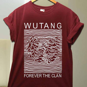Wu Tang Clan parody joy division for T Shirt unisex adult