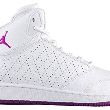 Nike Jordan 1 Flight 5 Premium GP Girls Preschool Basketball Shoes