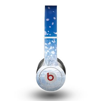 The Frozen Snowfall Pond Skin for the Beats by Dre Original Solo-Solo HD Headphones