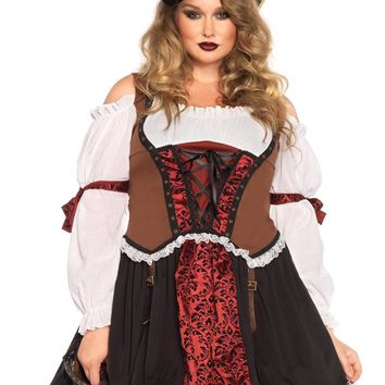 Leg Avenue Female Plus Size Ruthless Pirate Wench Costume 85371X