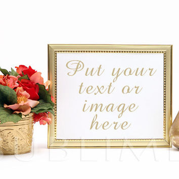 Styled Stock Photography / mock up / Empty Frame / Digital Background / Instant Download / JPEG Digital Image / StockStyle-296
