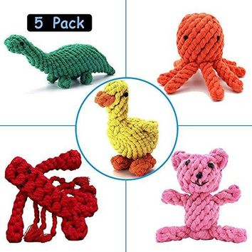 Dog Toys Cotton Rope Teeth Cleaning