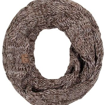 C.C. Infinity Scarf - Brown