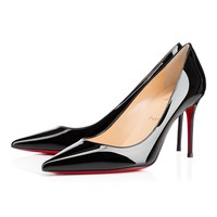 Decollete 554 85 Black Patent Leather - Women Shoes - Christian Louboutin