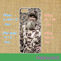 duck dynasty  -- iPhone 5 case , iphone 4 case , ipod touch case, ipod 5 case, ipod case, samsung galaxy S3 / S2 case, galaxy note 2 case
