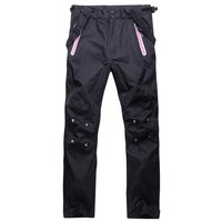 Hot Outdoor Windproof Waterproof Breathable  Winter Ski Pants Snow Trousers Durable Ski Snowboarding Pants