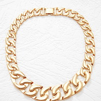 Gradated Chain Link Necklace