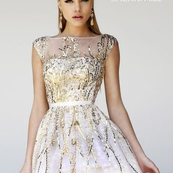 Sherri Hill 21212 Sequin Party Dress