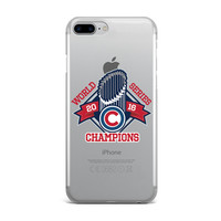 CUBS WORLD SERIES CHAMPIONS CUSTOM IPHONE CASE