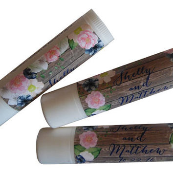 Personalized Lip Balm Party Favors Custom Wedding, Event, and Business Promotional Items