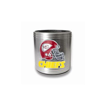 Kansas City Chiefs Insulated Stainless Steel Holder - Engravable Gift Item