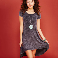 Gone Grunge T-Shirt Dress | Wet Seal