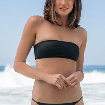 Billabong - Midnight Beach Bandeau | Black