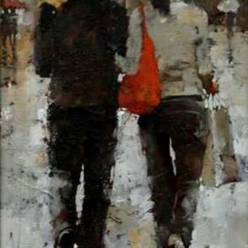Andre Kohn Rainy Weekend [Andre Kohn_A7186] - $99.00 oil painting for sale|Wonderful artwork|Buy it at once.