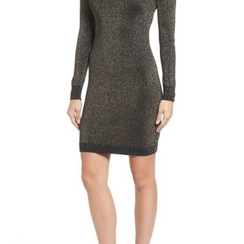 MICHAEL Michael Kors Choker Sweater Dress | Nordstrom