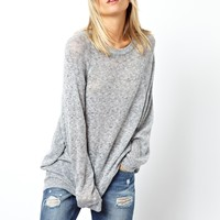 ASOS | ASOS Oversized Jumper in Soft Fabric at ASOS