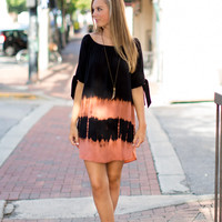 Birds Of Paradise Dress - Black