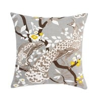 DwellStudio | PEACOCK CITRINE PILLOW - Pillows - Bedding
