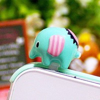 Cute Elephant Cell Plug