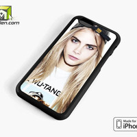 Cara Delevingne Fashion Model Star iPhone 6 Case Cover by Avallen