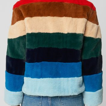 Blank NYC Rainbow Jacket
