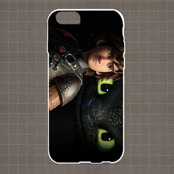 Hicup and The Dragon - How To Train Your Dragon iPhone 4/4S, 5/5S, 5C Series Hard Plastic Case