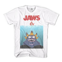 Legs T-Shirt Jaws Little Mermaid Parody - American Apparel Unisex Sizes S, M, L, XL