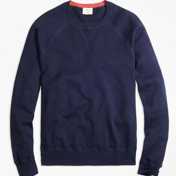 Athletic Crewneck Sweater - Brooks Brothers