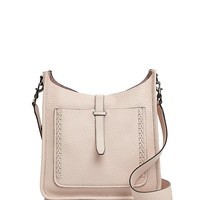 Rebecca MinkoffUnlined Feed Whipstitch Leather Crossbody