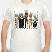 Unusual Suspects T-shirt by Castlep?p | Society6