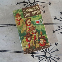 1948 Boy Scouts of America Handbook for Boys BSA Scouting