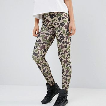 Converse Camo Print Leggings at asos.com