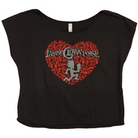 Insane Clown Posse  ICP Heart Junior Top Black