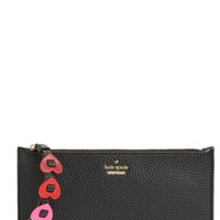 kate spade new york yours truly ariah leather wristlet | Nordstrom